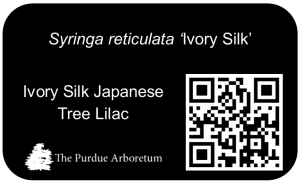 QR Shrub Sign Example