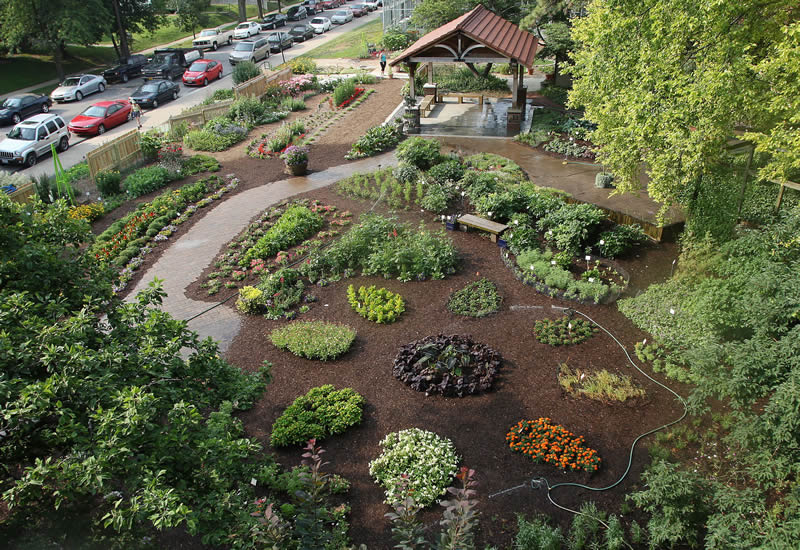 Attractive Horticulture Garden