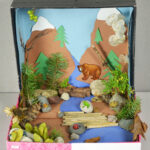Diorama Front View