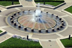 Built in 1959, Loeb Fountain was originally located in the Purdue Mall by Hovde Hall. Today, the fountain is located in Founders Park, South of Beering Hall.