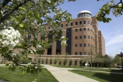 Named after Purdue's ninth president, Steven C. Beering, Beering Hall is used today by the College of Liberal Arts.